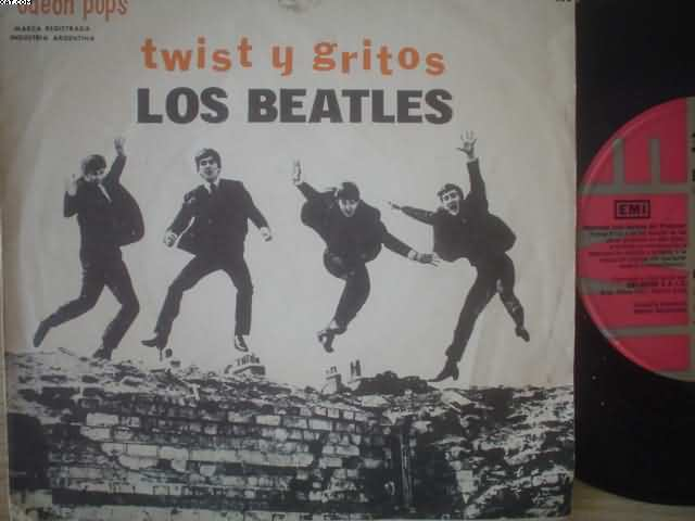 BEATLES - Twist Y Gritos +3 Record