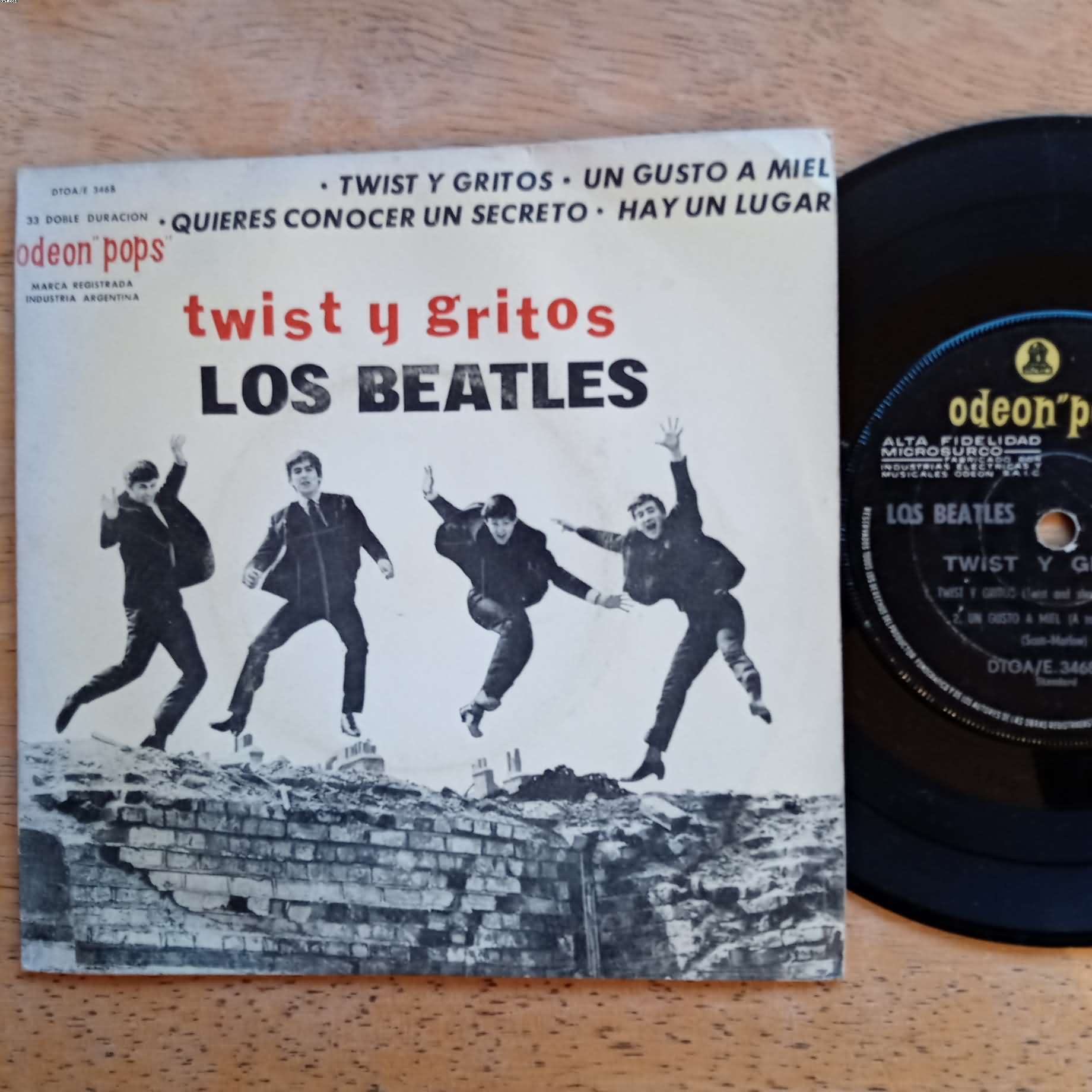 BEATLES - Twist Y Gritos +3 Album