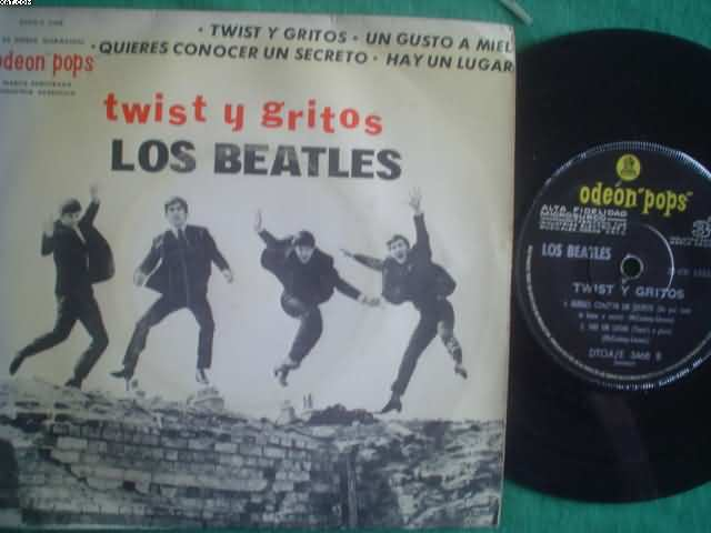 BEATLES - Twist Y Gritos +3 LP