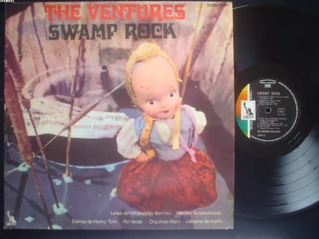 VENTURES - Swamp Rock Record
