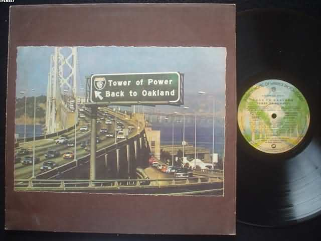 TOWER OF POWER - Back To Oakland Single