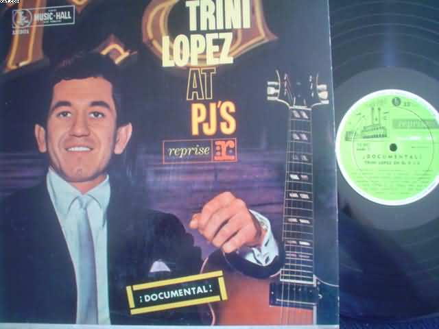 TRINI LOPEZ - At Pj's Vinyl