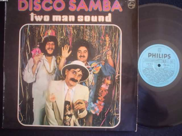 TWO MAN SOUND - Disco Samba Record