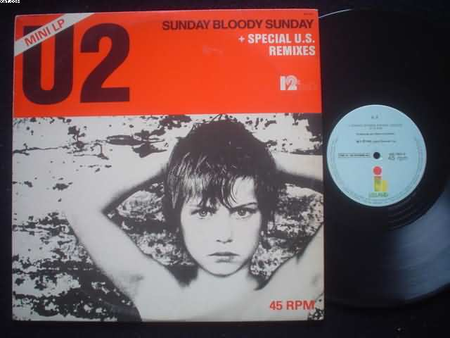U2 - Sunday Bloody Sunday EP