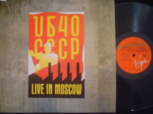 UB40 - Live In Moscow LP
