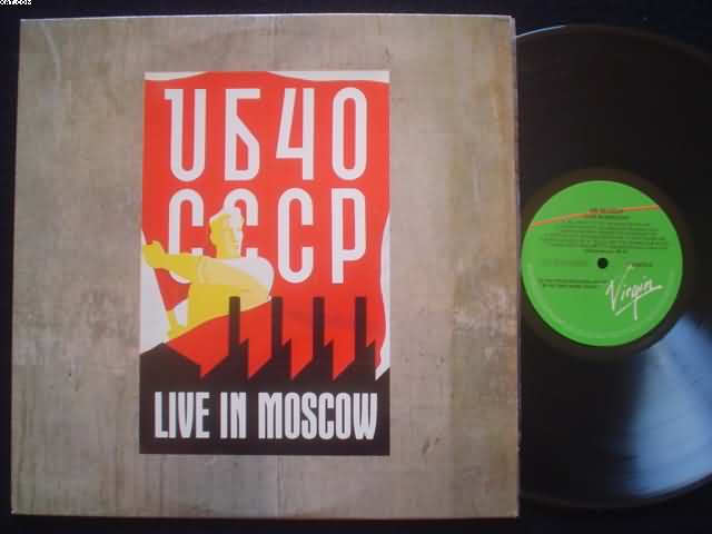 UB40 - Live In Moscow CD
