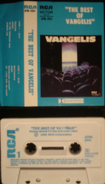 VANGELIS - The Best Of Vangelis Vinyl