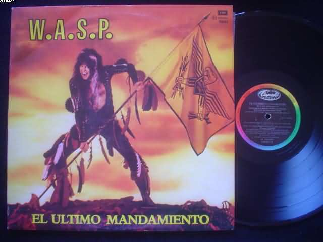 WASP - El Ultimo Mandamiento Album