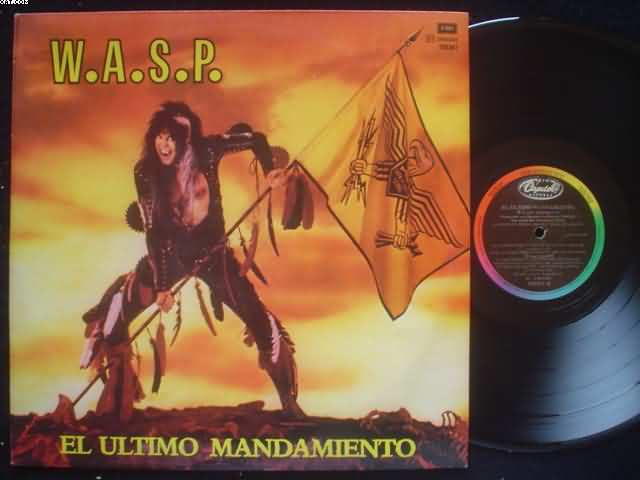WASP - El Ultimo Mandamiento Record