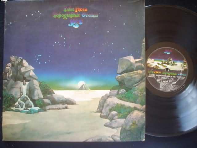 YES - Tales From Topographic Oceans Vinyl