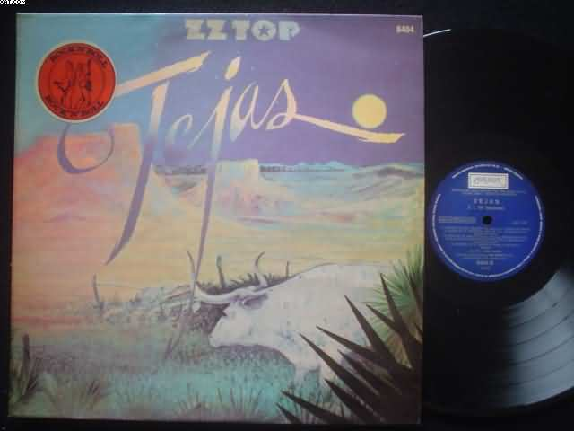 Zz Top Tejas Records Vinyl And Cds Hard To Find And Out