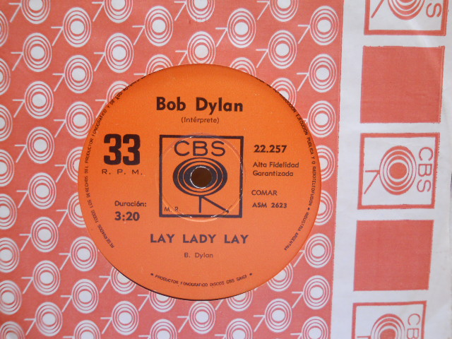 BOB DYLAN - Lay Lady Lay Wigwam