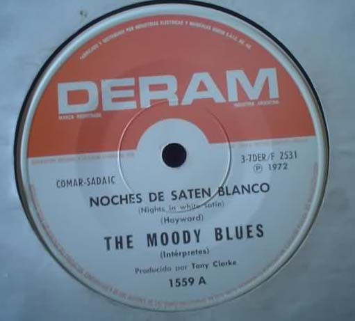 MOODY BLUES - Nights In White Satin-cities