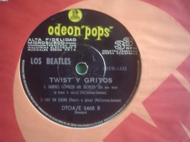 BEATLES - Twist Y Gritos +3