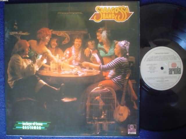 SARAGOSSA BAND - Saragossa Band Record