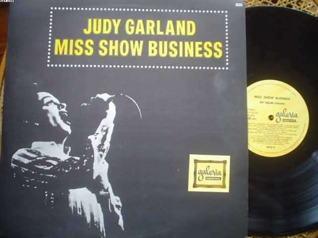 JUDY GARLAND - Miss Show Business LP