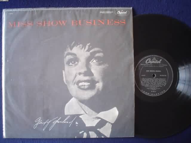 JUDY GARLAND - Miss Show Business CD