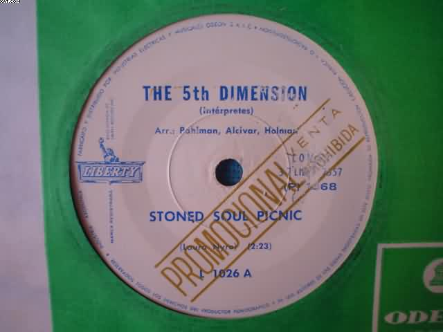 5TH DIMENSION - Stoned Soul Picnic-la Cancion