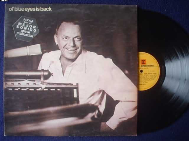 FRANK SINATRA - Ol' Blue Eyes Is Back Single