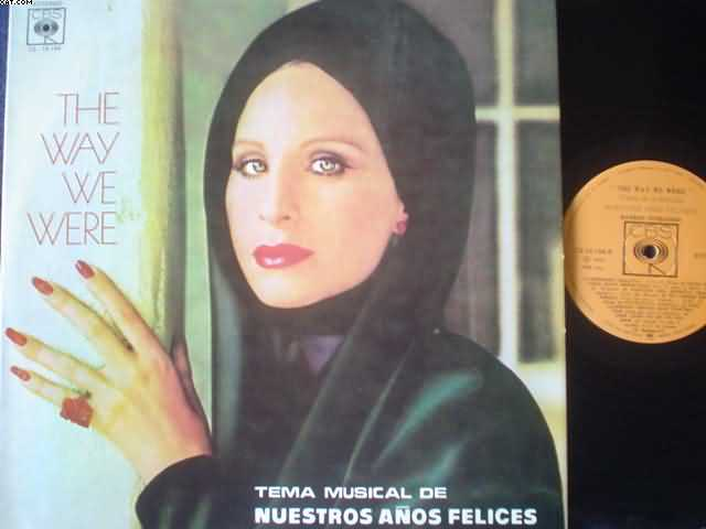BARBRA STREISAND - The Way We Were Single