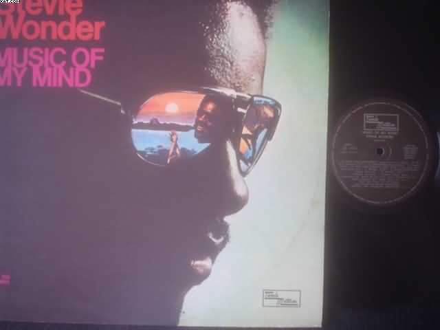 STEVIE WONDER - Music Of My Mind LP