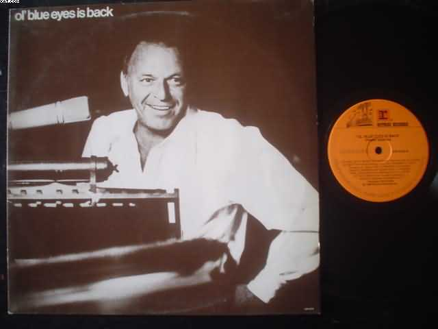 FRANK SINATRA - Ol' Blue Eyes Is Back EP