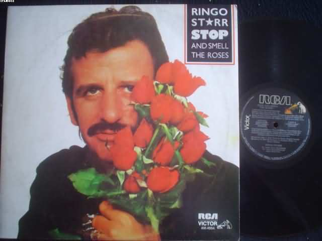 RINGO STARR - Stop And Smell The Roses Single