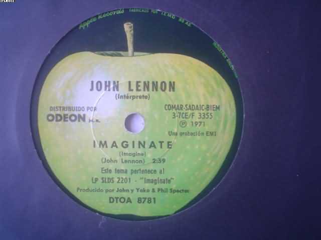 JOHN LENNON - Imaginate-es Tan Dificil
