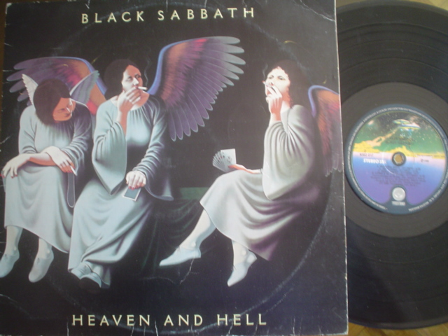 BLACK SABBATH - Heaven And Hell Record