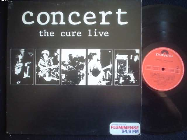 CURE - Concert Live LP