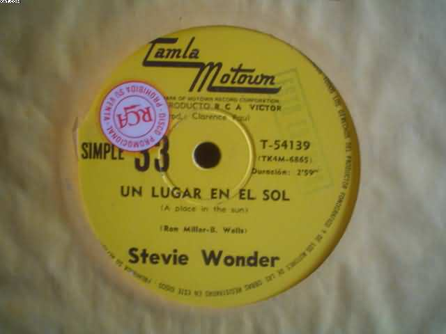 STEVIE WONDER - A Place In The Sun-sylvia