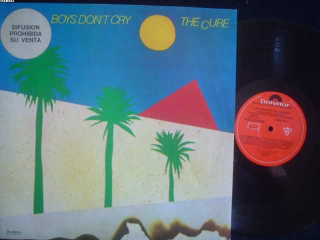 CURE - Boys Don't Cry Record