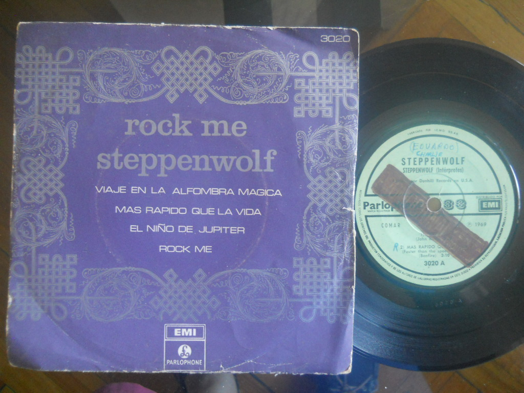 Rock Me +3 - STEPPENWOLF