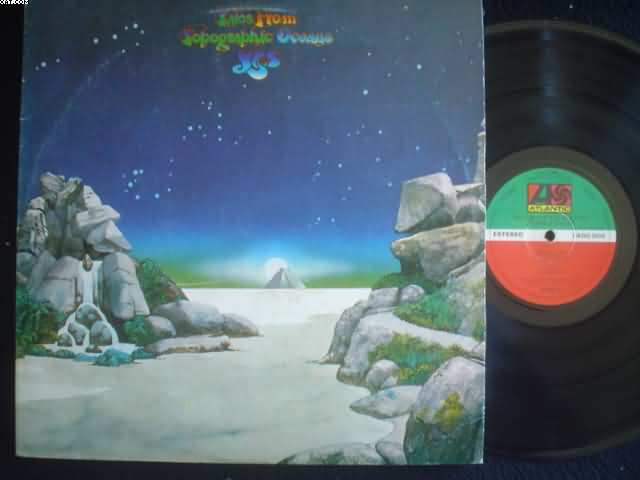 YES - Tales From Topographic Oceans CD