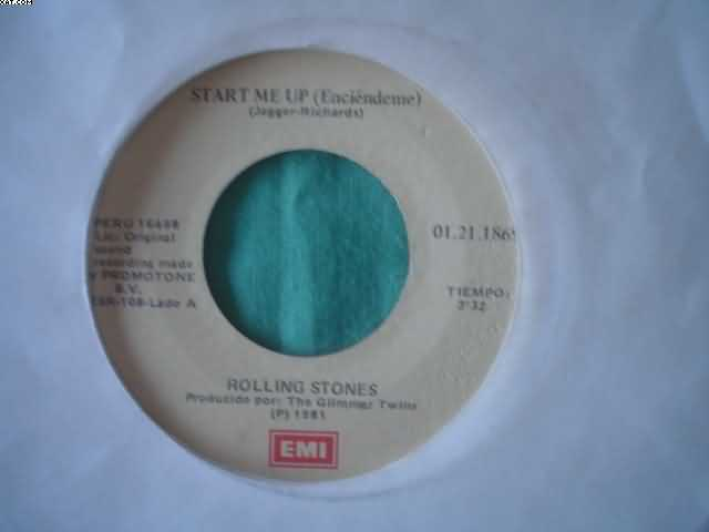 ROLLING STONES - Start Me Up-no Use In Crying