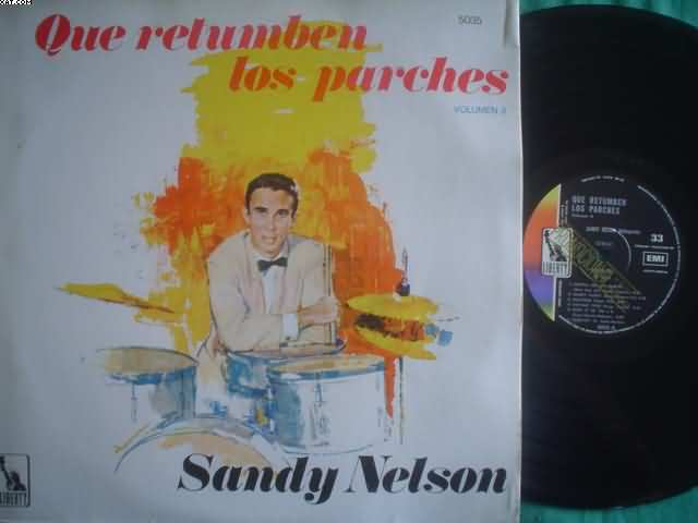 Sandy Nelson Que Retumben Los Parches 2 LP