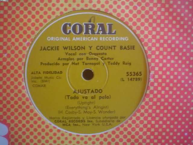 Jackie Wilson Uptight-For+Your+Precious 7''