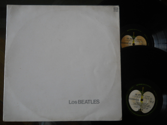 BEATLES - White Album LP