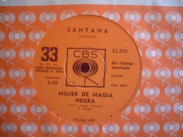 SANTANA - Black Magic Woman-hope You're
