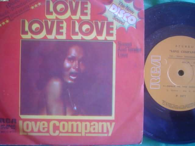 LOVE COMPANY - Love Love-dance To The Disco