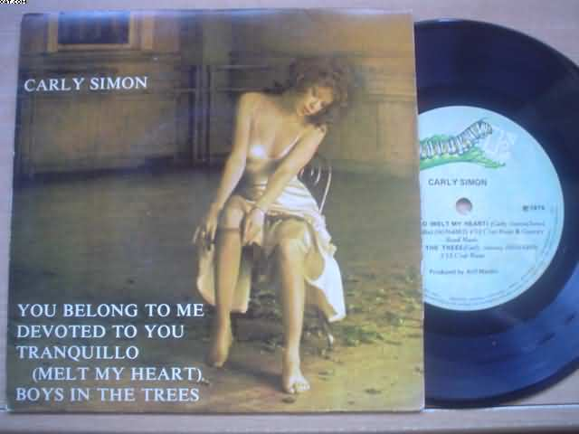 CARLY SIMON - You Belong To Me +3