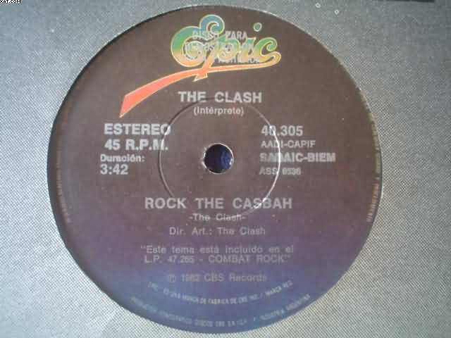 CLASH - Rock The Casbah-overpowered