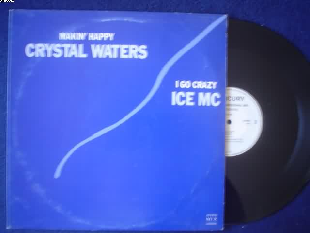 WATERS, CRYSTAL - Makin' Happy Hurley's Happy House Mix 6:23/hurley's Insane Mix 6:24/basement Boys Happy Club Mix 7:5