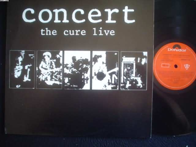 CURE - Concert Live Album