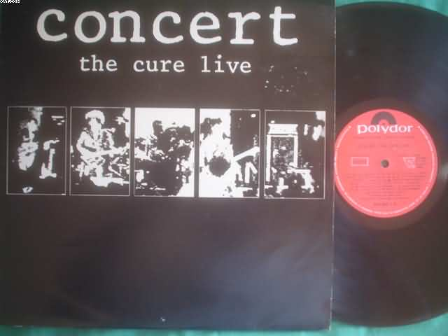 CURE - Concert Live CD