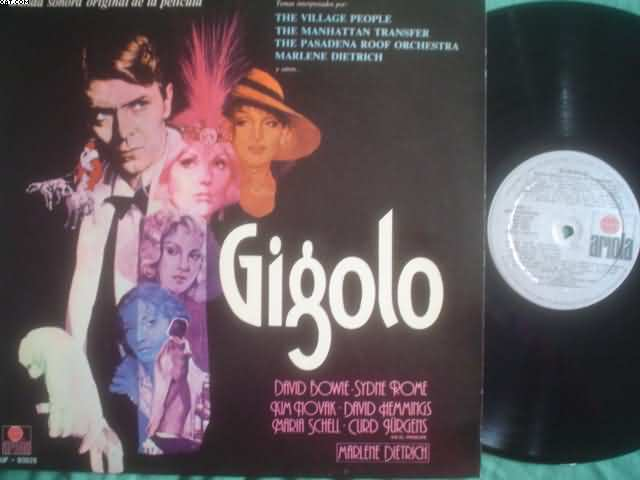 Gigolo Soundtrack