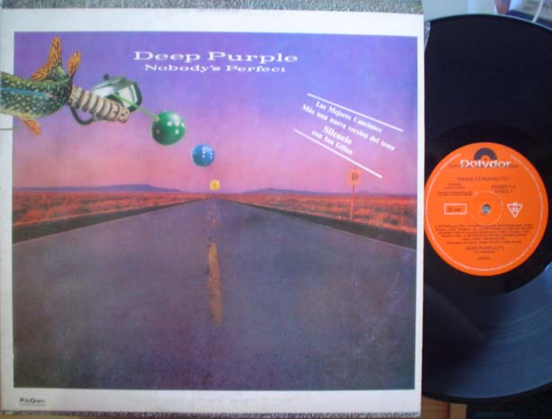 DEEP PURPLE - Nobody's Perfect LP