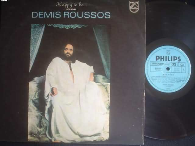 Demis Roussos Happy+To+Be LP